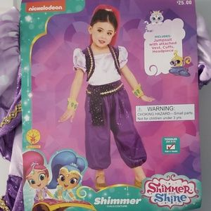 Shimmer childs costume